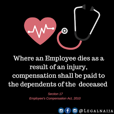 Compensation for death in the workplace