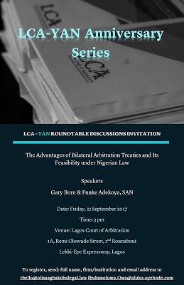 LCA Young Arbitrators Network anniversary event