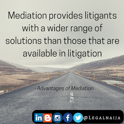 The Benefits Of Mediation Over Litigation (iii)| DmediationLawyerist