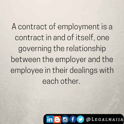 Essentials of a Contract of Employment | Kingsley Ugochukwu Ani