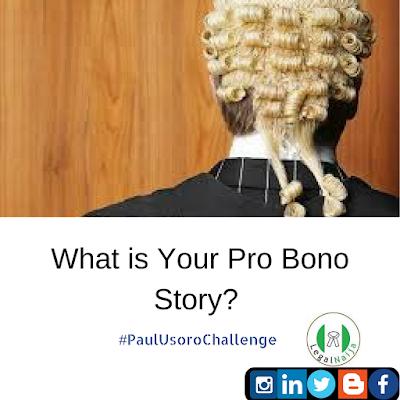My Pro Bono Story | Adedunmade Onibokun