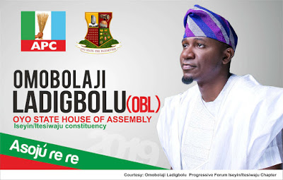 Young Nigerian Lawyer seeking to serve his Constituency at the Oyo State House of Assembly