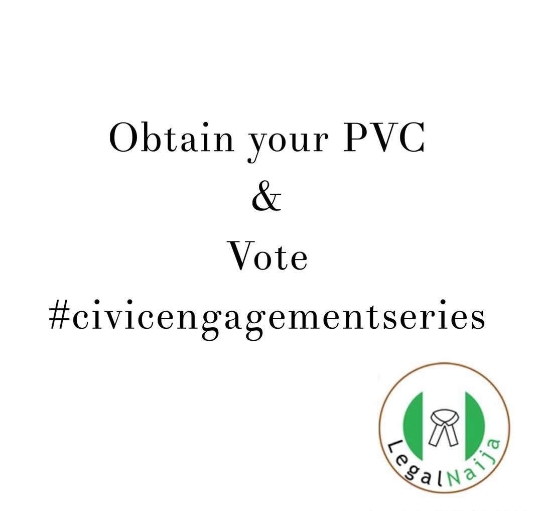 Civic Engagement Series: Obtain your PVC & Vote