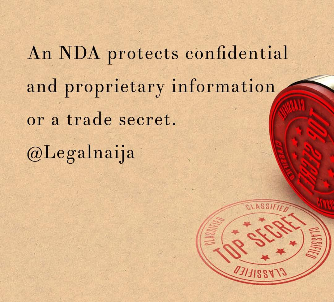 Essence of NDAs