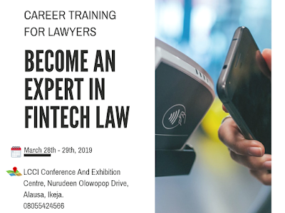 Become A Legal Expert in Fintech; Take The Career Training For Lawyers