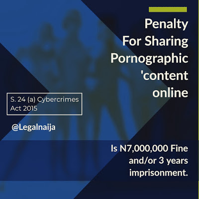 What is the Penatly For Sharing Nudes Online