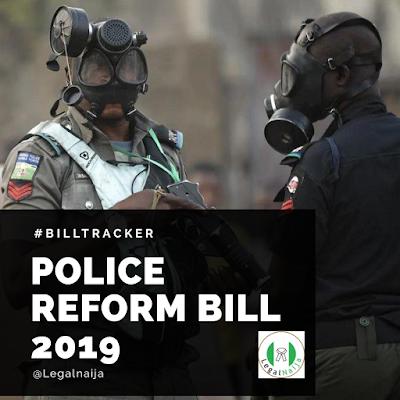 Bill Tracker – Nigeria Police Reform Bill 2019