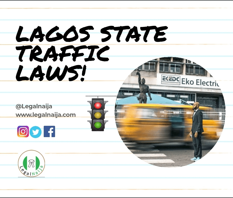 Pictograph: Lagos State Traffic Violations (Part 1)