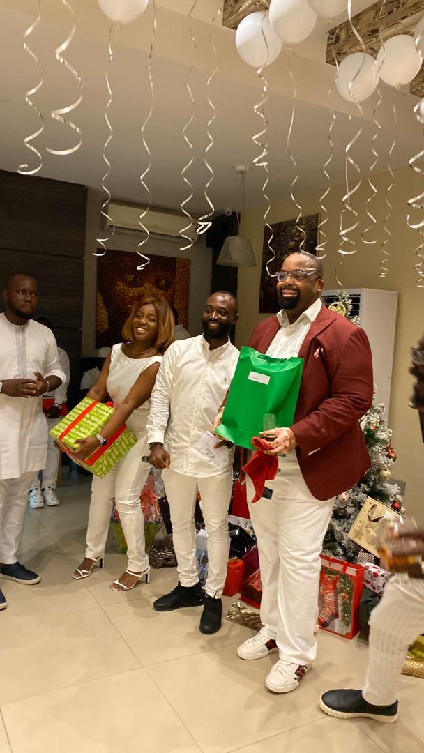 Templars Celebrates Year – End With Fun – Filled All White Party