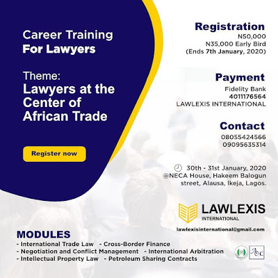 10 Reasons You Should Register For the International Trade and Conflict Management Training for Lawyers