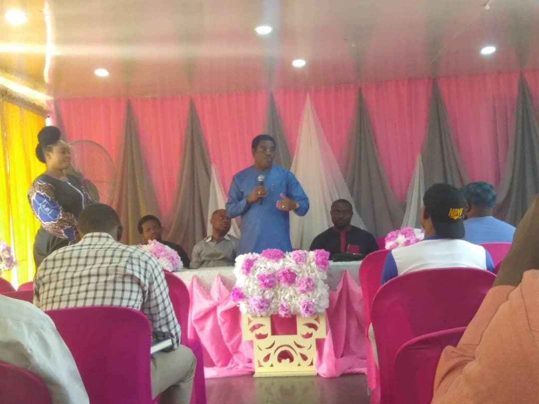 Dele Adesina SAN, appreciates the YLF of the Nigerian Bar Association
