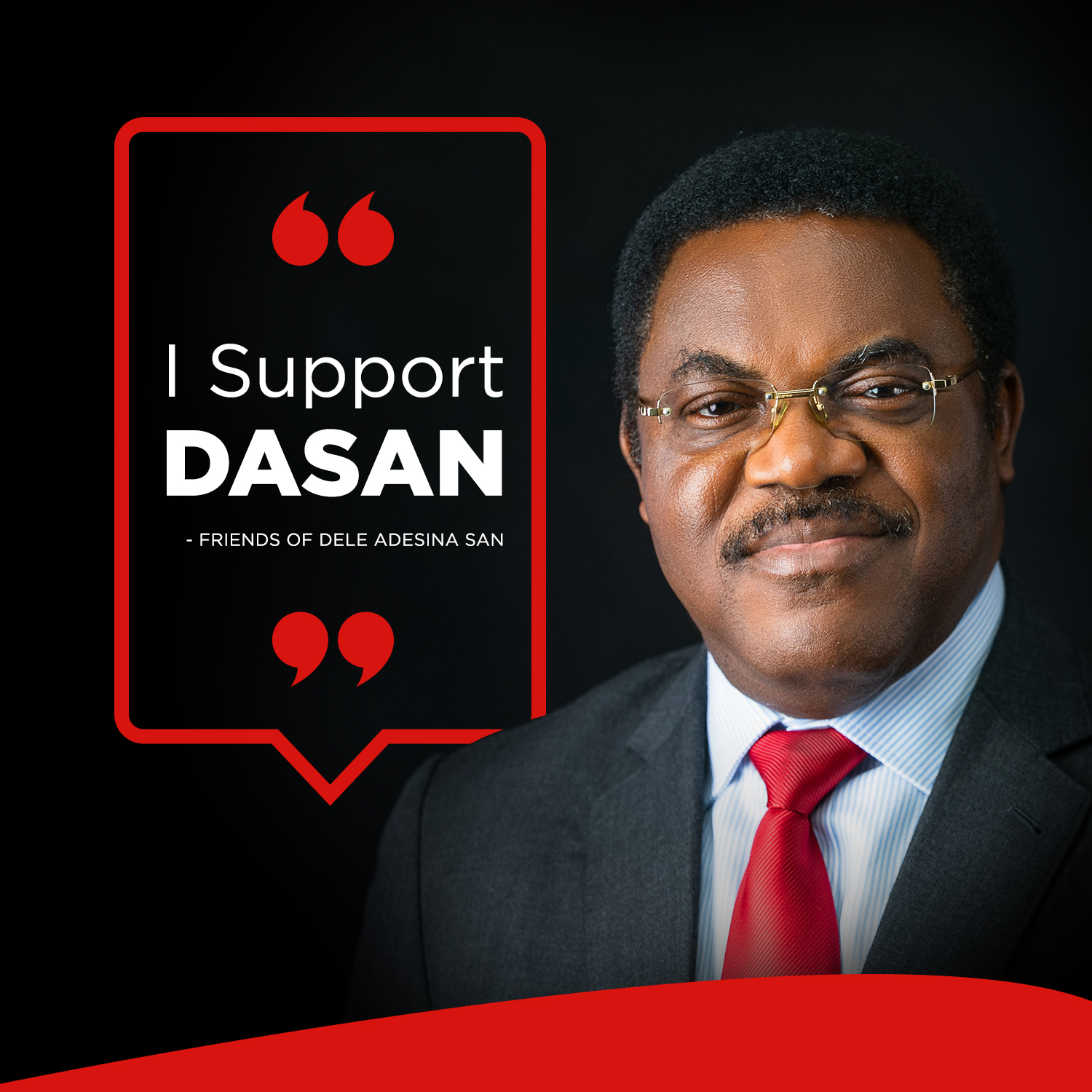 DELE ADESINA, SAN IS DIFFERENT