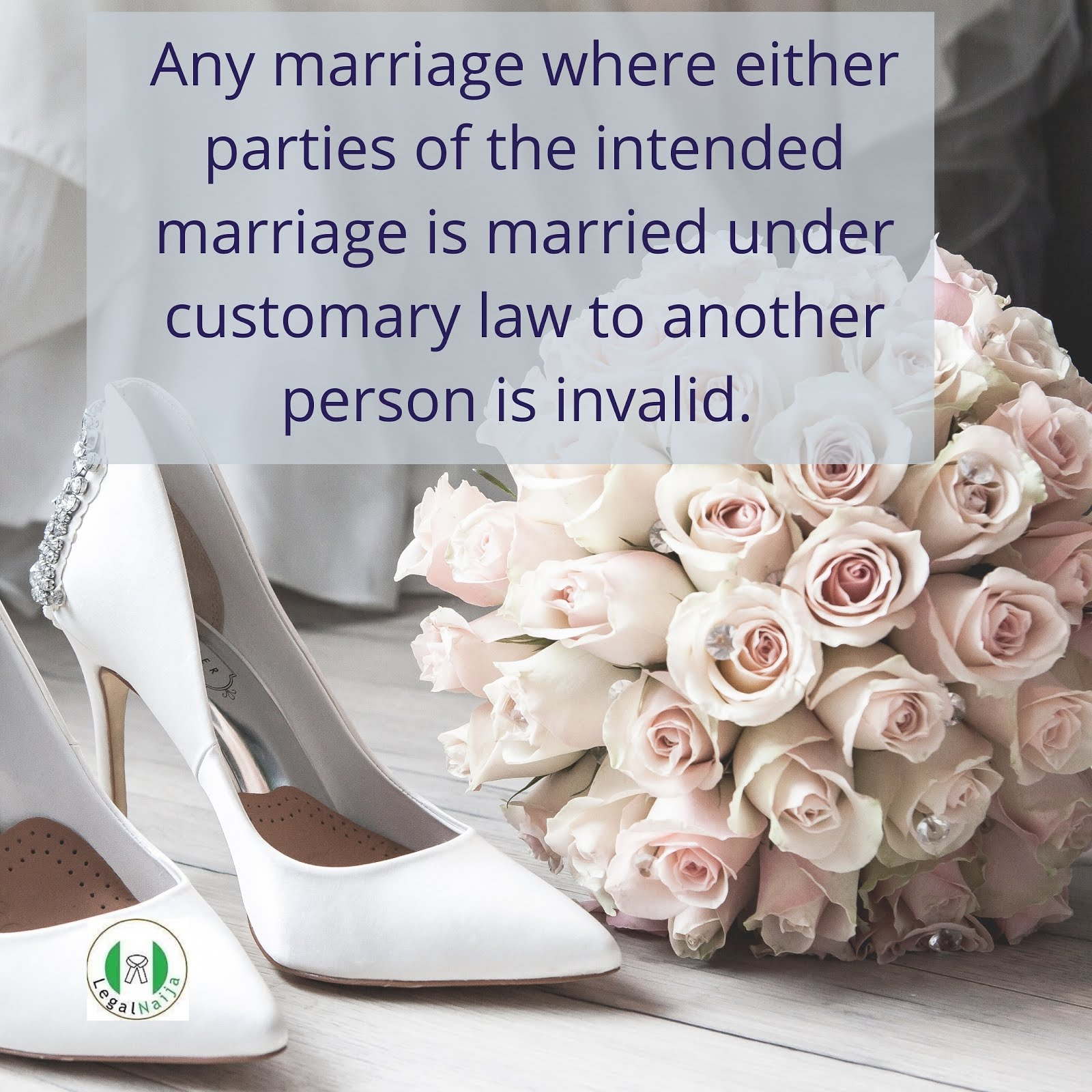 Question- Can one be married to 2 people under Statutory and Customary Law?
