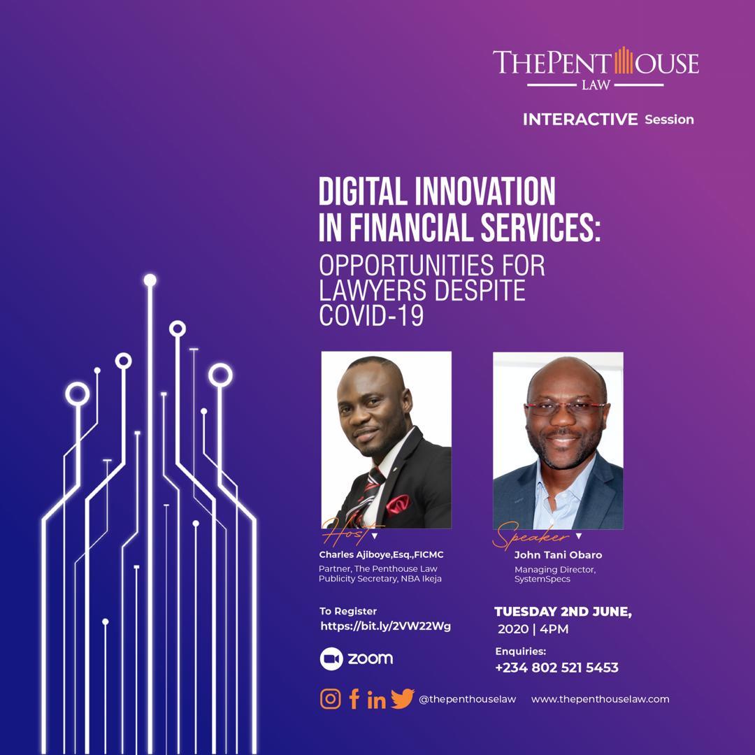 Webinar on Digital Innovation in Financial Services
