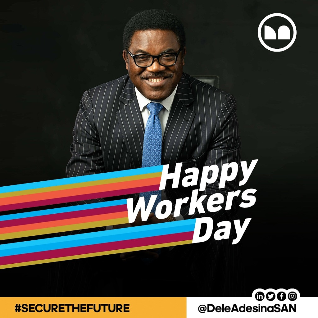 Dele Adesina SAN Wishes Lawyers Happy Worker's Day