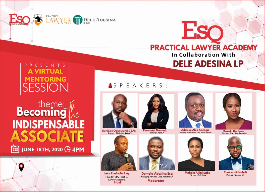 Esq Mentoring Sessions: How Young Lawyers Can Become Indispensable Associates