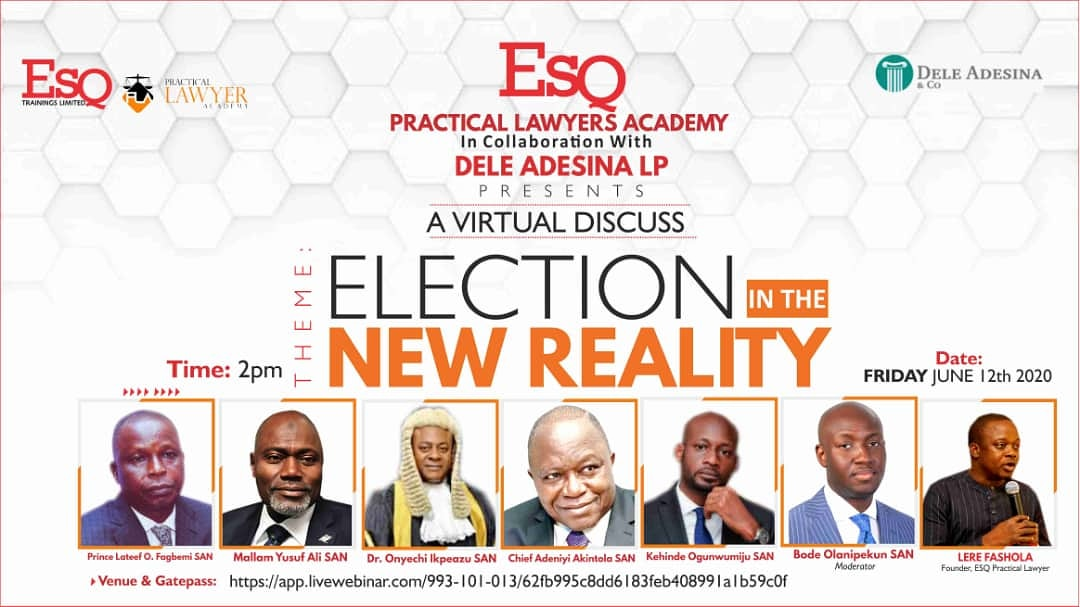 Webinar: Election In The New Reality