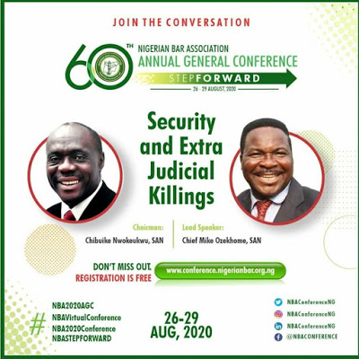 NBAAGC2020 Session Security And Extra Judicial Killings In Nigeria