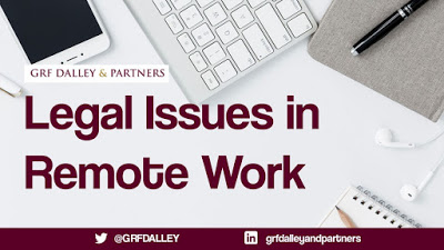 Legal Issues In Remote Work   GRF Dalley & Partner