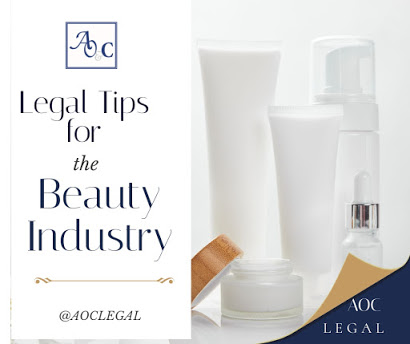 Legal Tips for Businesses In The Beauty Industry   AOC Legal