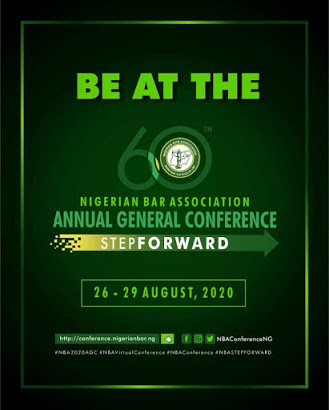 Dear Lawyers, What Are You Doing On the 26th – 29th of August, 2020? #NBAAGC2020