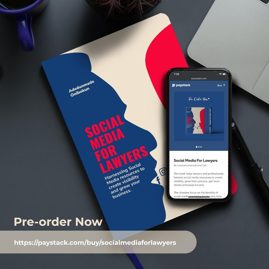 Pre – Order Your Copy Of Social Media For Lawyers