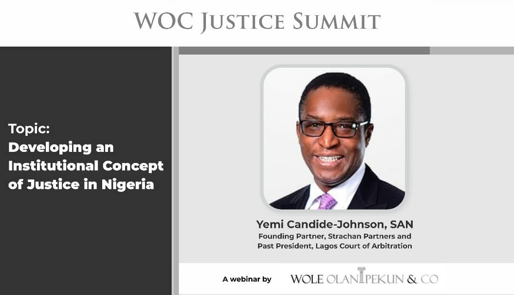 #WOCJusticeSummit And The Key Factors Affecting Justice Delivery In Nigeria   Register Now